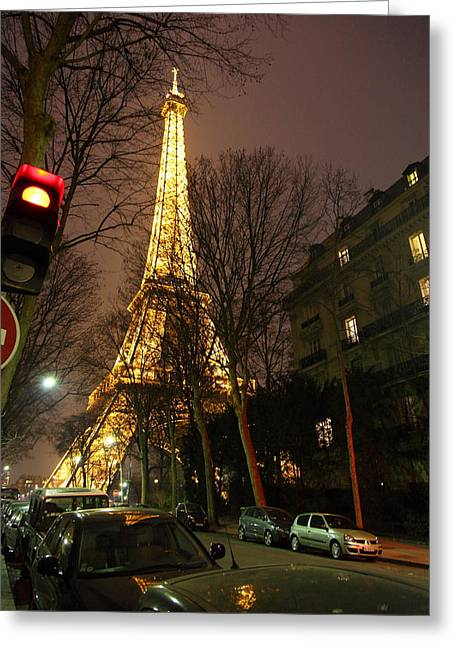 Architektur Greeting Cards - Eiffel Tower - Paris France - 011317 Greeting Card by DC Photographer