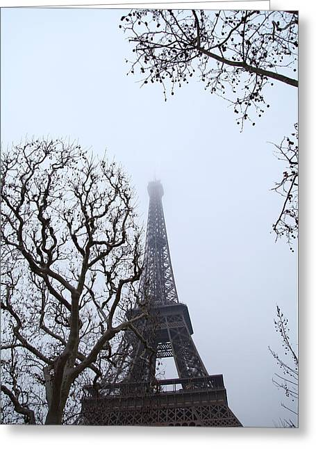 Iron Greeting Cards - Eiffel Tower - Paris France - 011318 Greeting Card by DC Photographer