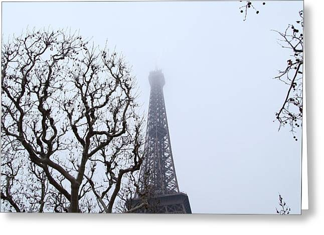 Eiffel Tower - Paris France - 011318 Greeting Card by DC Photographer