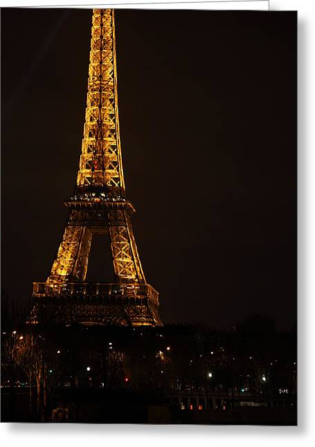 Massive Greeting Cards - Eiffel Tower - Paris France - 011323 Greeting Card by DC Photographer