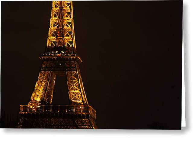 Eiffel Tower - Paris France - 011323 Greeting Card by DC Photographer