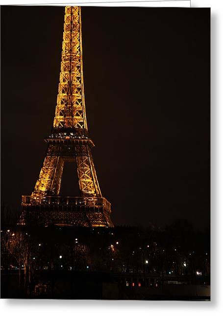 Perspective Greeting Cards - Eiffel Tower - Paris France - 011325 Greeting Card by DC Photographer