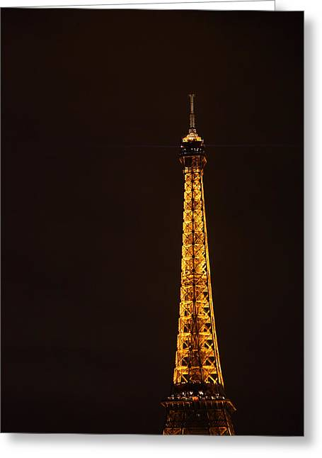 Citys Greeting Cards - Eiffel Tower - Paris France - 011327 Greeting Card by DC Photographer