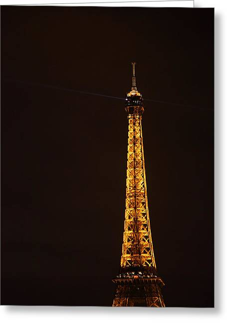 Eiffel Tower - Paris France - 011329 Greeting Card by DC Photographer