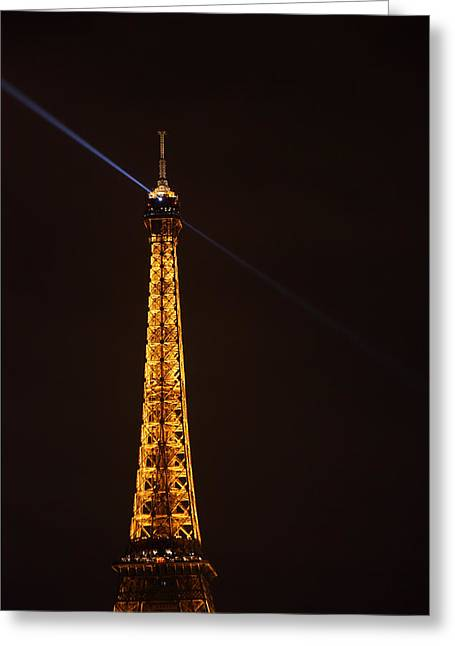 City Photographs Greeting Cards - Eiffel Tower - Paris France - 011333 Greeting Card by DC Photographer
