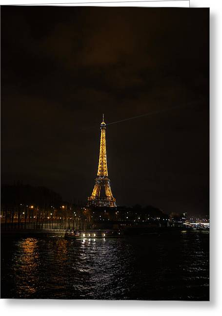 Powerful Greeting Cards - Eiffel Tower - Paris France - 011336 Greeting Card by DC Photographer