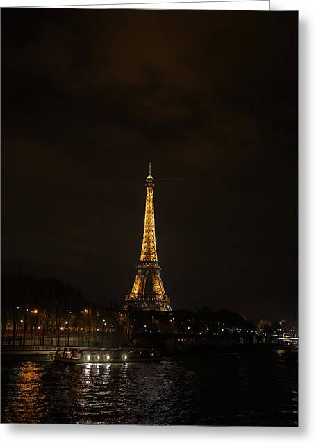 Eiffel Tower - Paris France - 011338 Greeting Card by DC Photographer