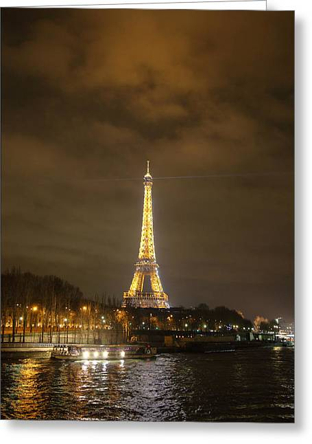 Structure Greeting Cards - Eiffel Tower - Paris France - 011340 Greeting Card by DC Photographer