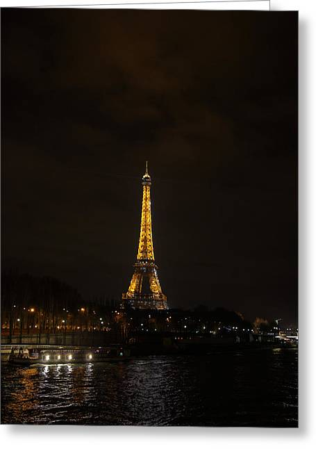 Powerful Greeting Cards - Eiffel Tower - Paris France - 011341 Greeting Card by DC Photographer