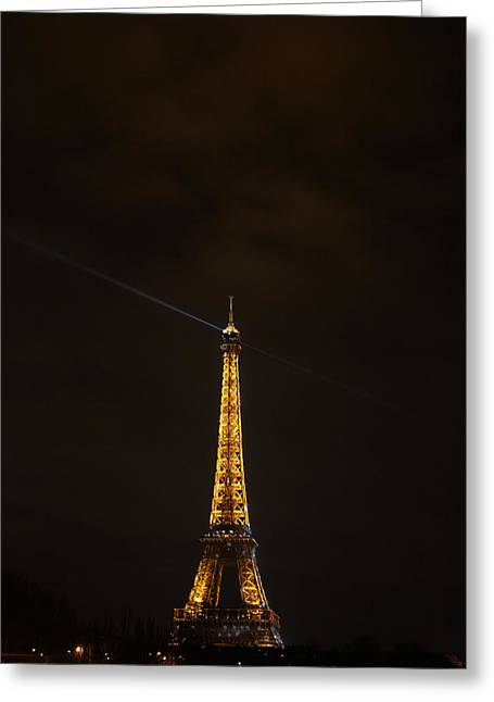 Perspective Greeting Cards - Eiffel Tower - Paris France - 011344 Greeting Card by DC Photographer