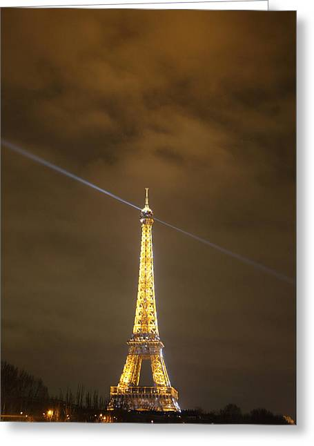 Capital Greeting Cards - Eiffel Tower - Paris France - 011346 Greeting Card by DC Photographer