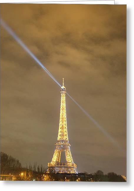 Eifel-turm Greeting Cards - Eiffel Tower - Paris France - 011348 Greeting Card by DC Photographer