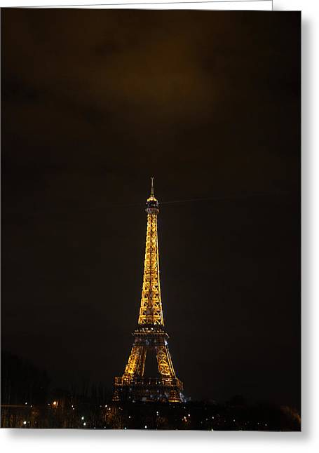 Eiffel Tower - Paris France - 011350 Greeting Card by DC Photographer