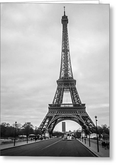 Eiffel Tower Greeting Card by Steven  Taylor