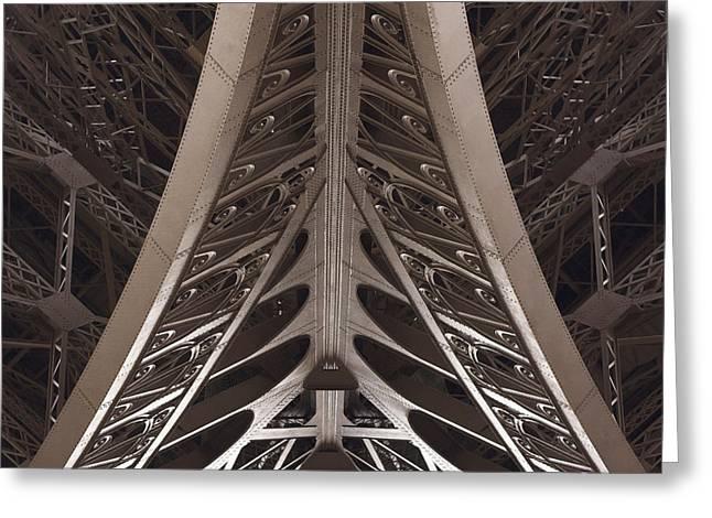 Bastille Greeting Cards - Eiffel Afternoon Greeting Card by Von Hoffman