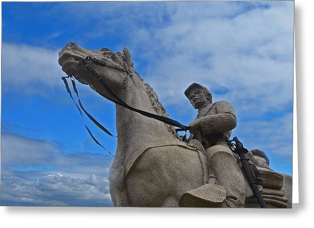 Penna Greeting Cards - Eighth Pennsylvania Cavalry Greeting Card by Skip Willits