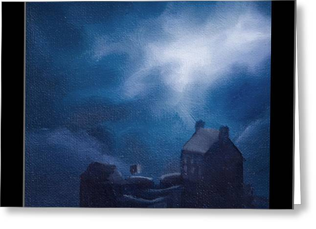 Wolfman Greeting Cards - Eilean Donan Castle Greeting Card by James Christopher Hill