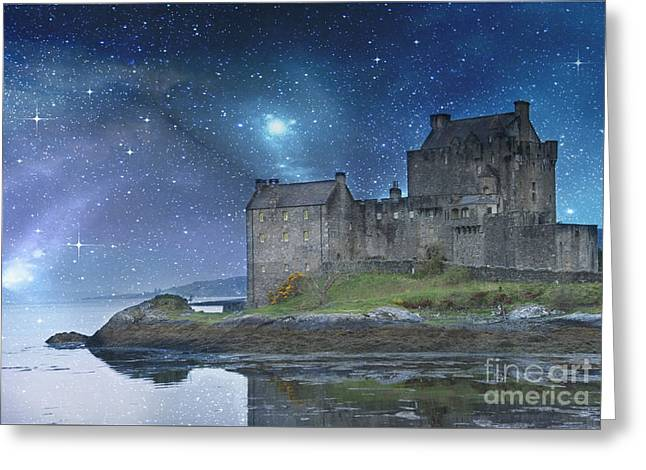 Recently Sold -  - Historical Images Greeting Cards - Eilean Donan Castle Greeting Card by Juli Scalzi