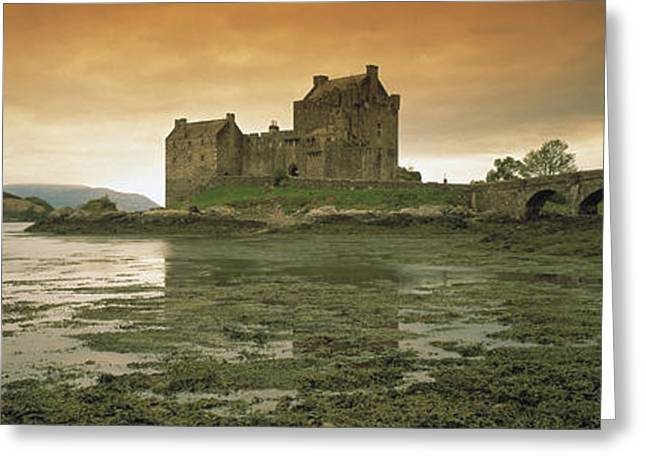 Moss Greeting Cards - Eilean Donan Castle Scotland Greeting Card by Panoramic Images