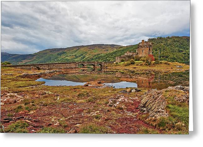 Old Western Photos Greeting Cards - Eilean Donan Greeting Card by Marcia Colelli