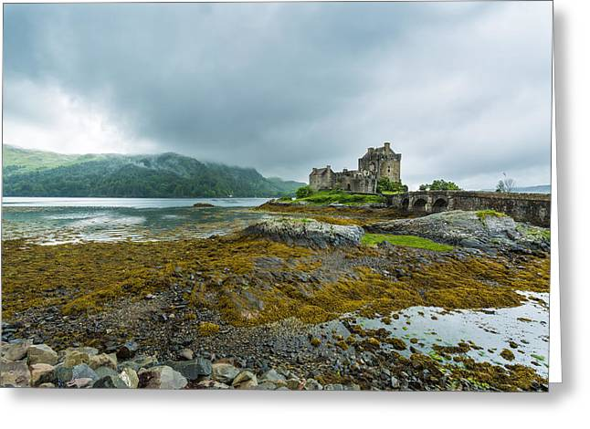Factions Greeting Cards - Eilean Donan Castle Greeting Card by John Hickson