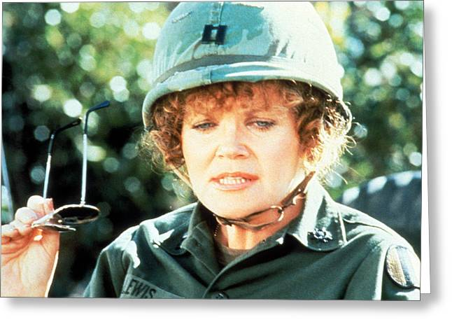 Private Greeting Cards - Eileen Brennan in Private Benjamin  Greeting Card by Silver Screen