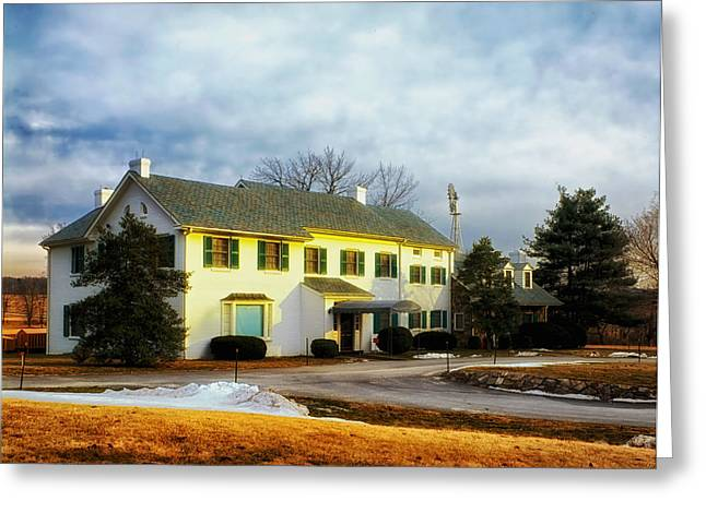 Dwight Eisenhower Greeting Cards - Eisenhower Home Gettysburg Greeting Card by Mountain Dreams