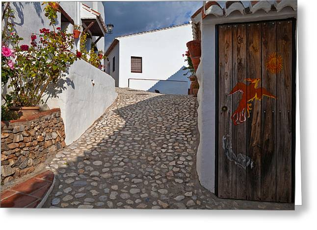 Costa Greeting Cards - El Acebuchal, The Lost Village Or Ghost Greeting Card by Panoramic Images