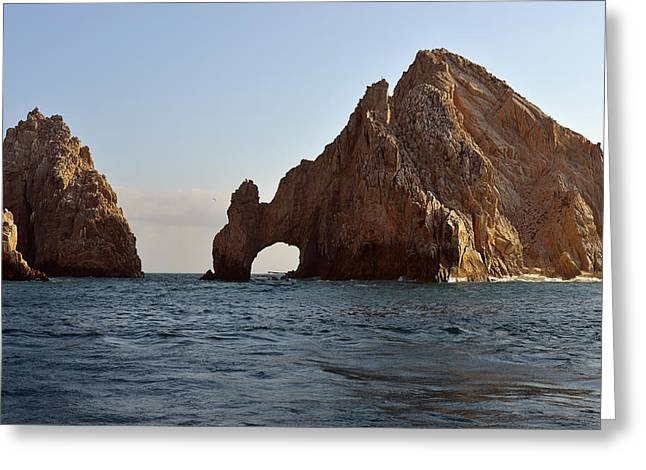 West Coast Greeting Cards - El Arco de Cabo San Lucas Greeting Card by Christine Till