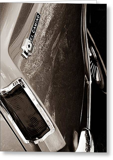 Racy Greeting Cards - El Camino  Greeting Card by Chris Berry