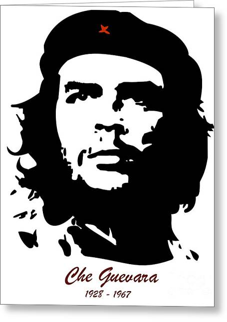 Marxism Greeting Cards - El Che Greeting Card by T Lang