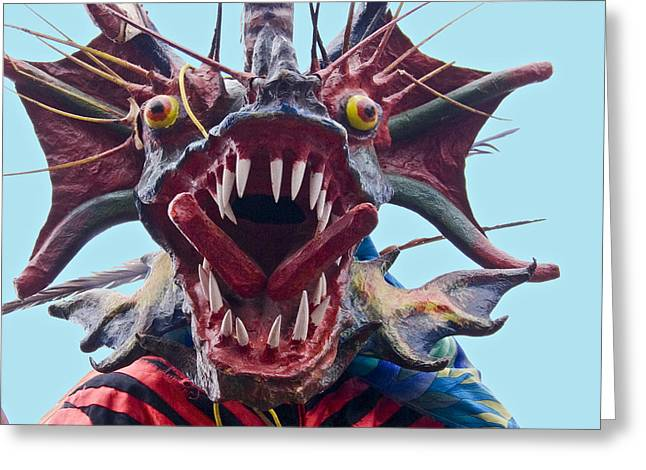 Outfit Greeting Cards - El Diablo Greeting Card by Heiko Koehrer-Wagner