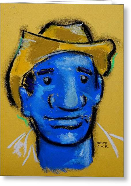 Farming Pastels Greeting Cards - El Granjero The Farmer Greeting Card by Danyl Cook