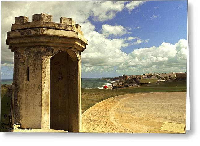 Castillo San Felipe Greeting Cards - El Morro Greeting Card by Hany Jadaa  Prince John Photography