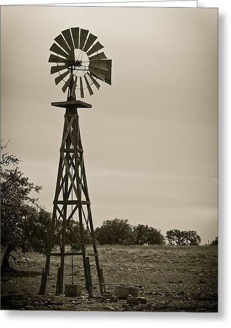 Ranch Pyrography Greeting Cards - El Papalote Greeting Card by Juan Gabriel Maldonado