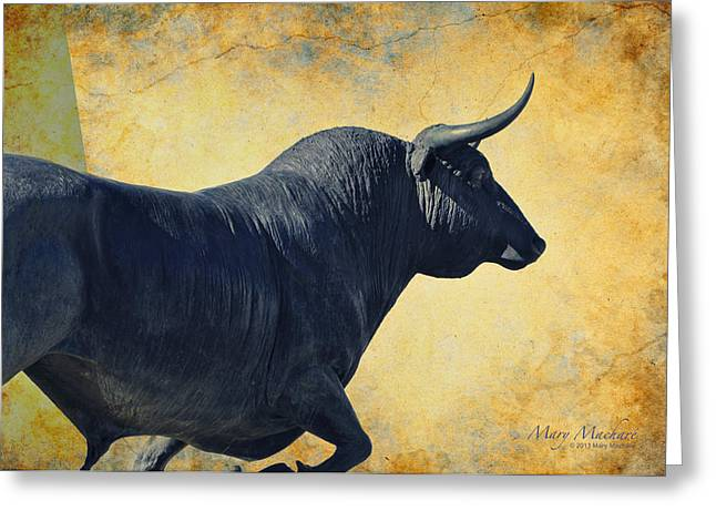 El Toro  Greeting Card by Mary Machare