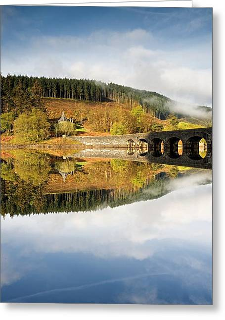 Wales Framed Prints Greeting Cards - Elan Valley Aqueduct Greeting Card by Stephen Taylor