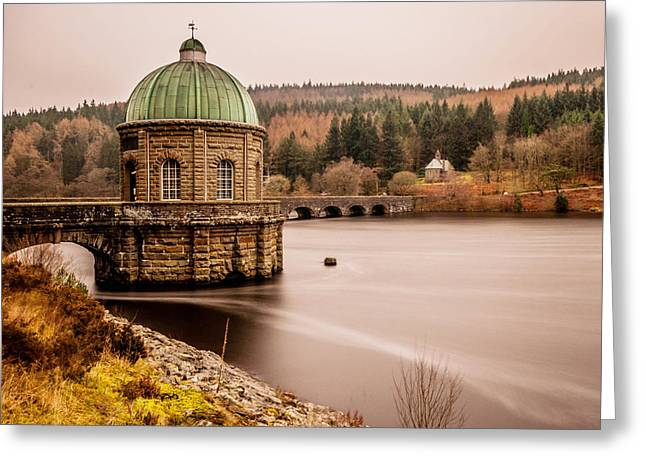 Victorian Pyrography Greeting Cards - Elan Valley Greeting Card by Colin Nicholls