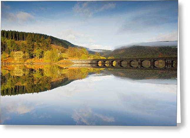 Wales Framed Prints Greeting Cards - Elan Valley resevoir Greeting Card by Stephen Taylor