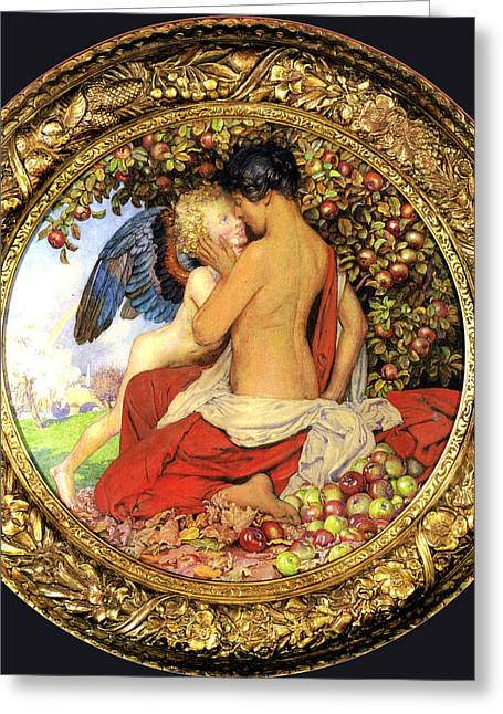Old Masters Greeting Cards - Eleanor Fortescue Brickdale Greeting Card by Eleanor Fortescue Brickdale