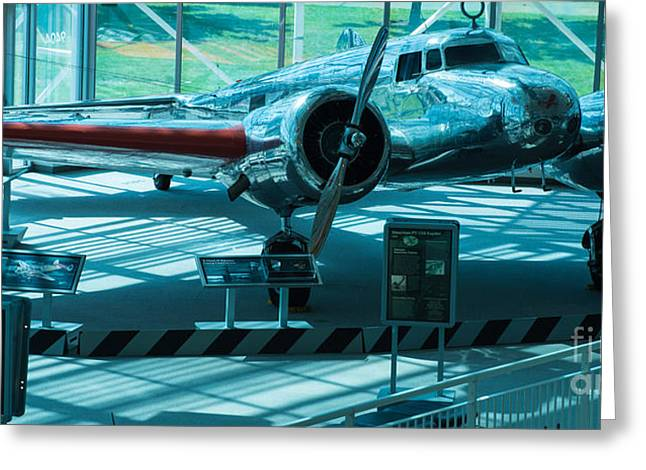 Lockheed Electra Greeting Cards - Electra Greeting Card by Rich Priest