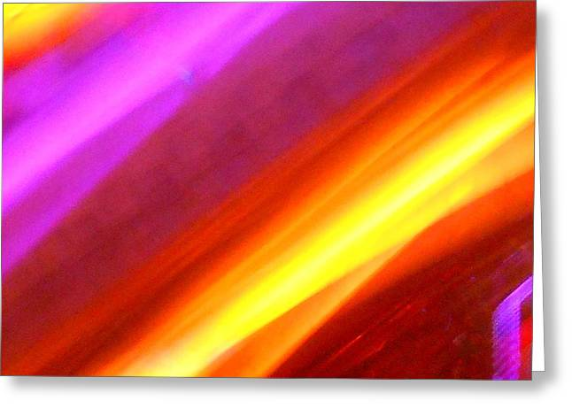Fantasy World Greeting Cards - Electric Light Song Greeting Card by James Welch
