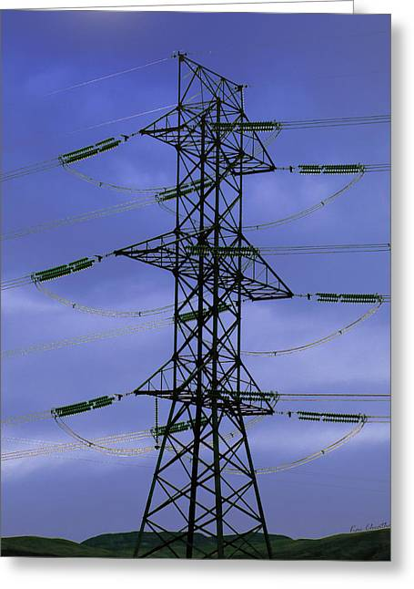 High Voltage Greeting Cards - Electric Moment Greeting Card by Kae Cheatham