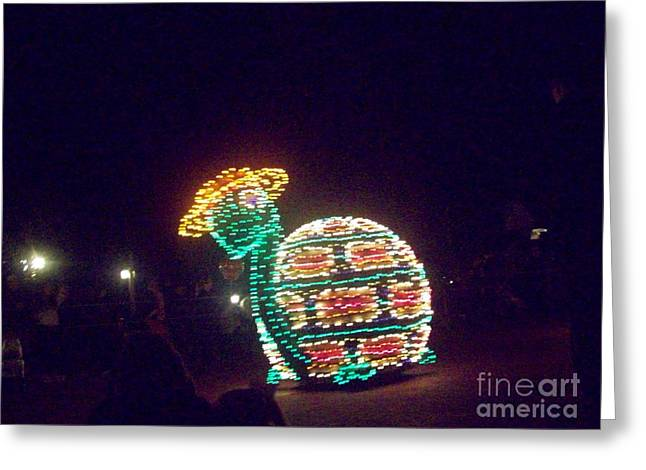 Electric Creation Greeting Cards - Electric Snail Greeting Card by Jackie Bodnar