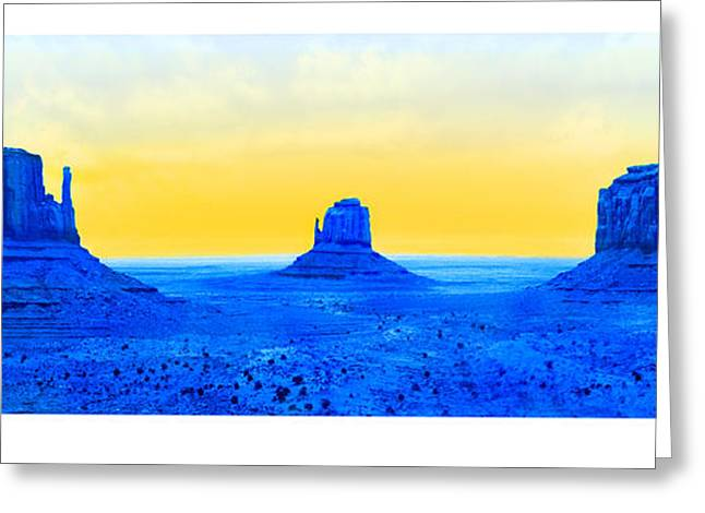 Formation Greeting Cards - Electric Southwest Greeting Card by Mike McGlothlen