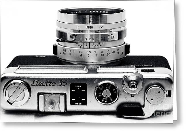 Rangefinder Greeting Cards - Electro 35 Greeting Card by John Rizzuto