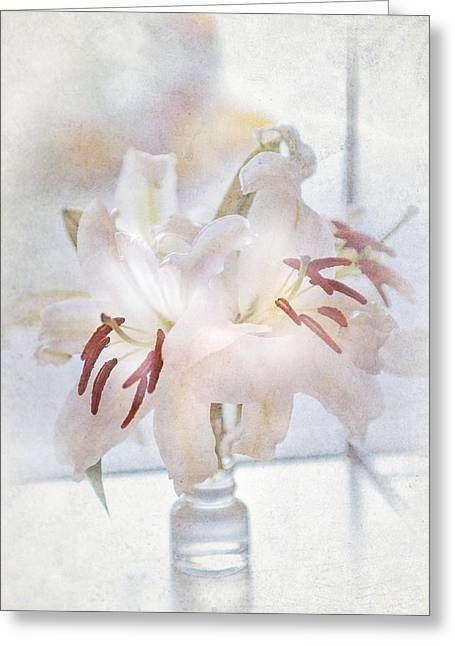 Caress Greeting Cards - Elegance De Elegance Greeting Card by Jenny Rainbow