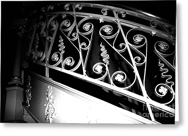 Stair Case Greeting Cards - Elegance  Greeting Card by Jamie Lynn