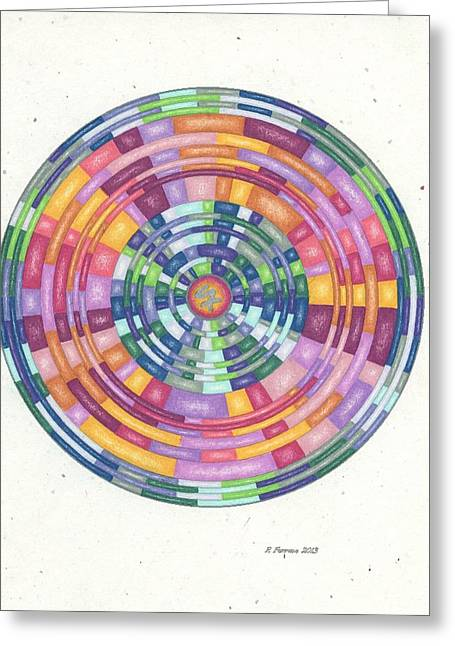 Sacred Drawings Greeting Cards - Elegant Choices Template Greeting Card by Ruthie Ferrone