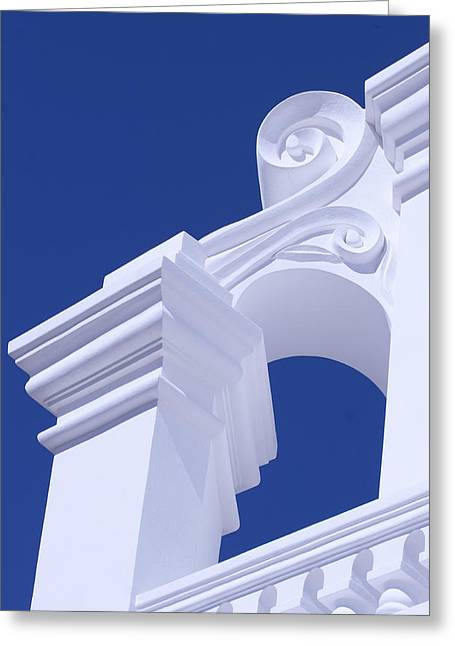 Classic Architecture Greeting Cards - Elemental Greeting Card by Elvira Butler